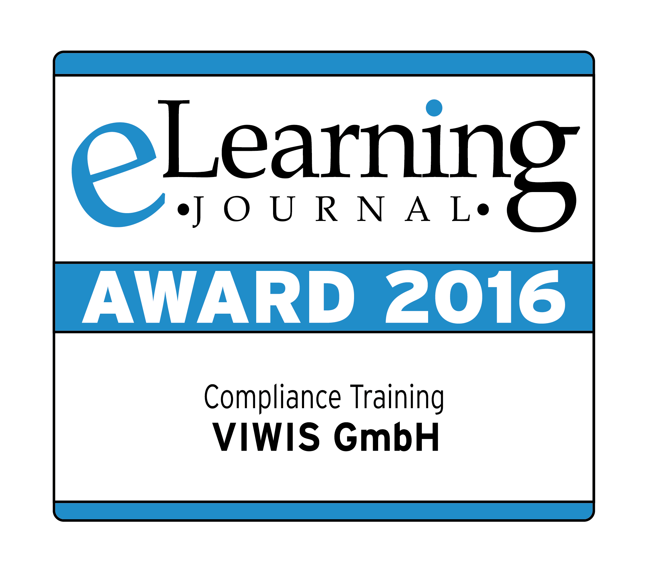 eLearning Journal Award 2016 für VIWIS